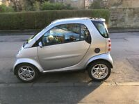 Smart Passion City Car, 2003, 56000 miles, LHD, outstanding condition, silver metallic, 2 owners