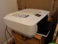 Colour Printer with Scanner, extra cartridges
