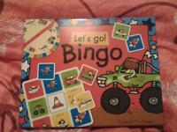 new and unopened lets go bingo game £2
