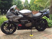 2007 hyosung gt125r very clean bike with only 630 miles finance is available AT KICKSTART