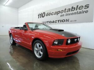 2007 Ford Mustang GT DÉCAPOTABLE - HITCH - CUIR