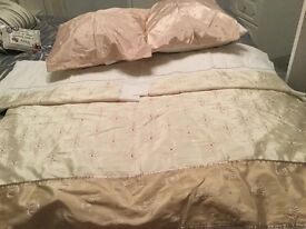 King size duvet cover and accessories