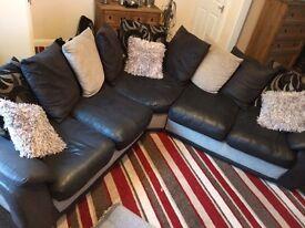 Large corner sofa excellent condition
