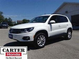 2014 Volkswagen Tiguan Comfortline + 4 Motion! + Year-End Clearo