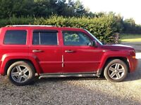 Jeep Patriot 2.0 CRD 2008 Limited Station Wagon 4x4 5dr, Leather Upholstery, LOW MILEAGE