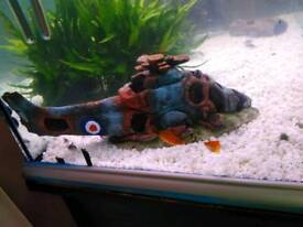 Fish tank Helicopter