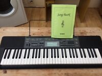 Casio CTK-2200 Keyboard with stand and pedal