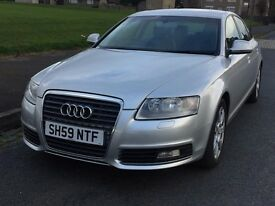 AUDI A6 59/10 NEW SHAPE FULLY LOADED,112K FULL SERVICE HISTORY,1 OWN,LEATHER,NEV,LED LIGHT,HPI CLEAR