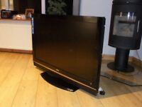 "SANYO 37"" FREEVIEW 2xHDMI FREE DELIVERY"