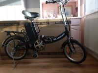 Dillenger electric folding Bike with Pedal assist & throttle Boxed