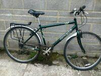 "Raleigh chiltern mens 19"" town bike (7) hybrid upcycles lk"