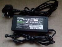 Original adapter for Sony laptop 19.5V PCGA-AC19V3