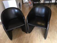 7 tub chairs