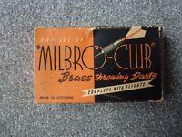 Milbro-Club Vintage Brass Darts