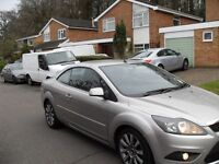 2009 FORD FOCUS 2.0 TDCI 6 SPEED DIESEL CC2 LOW MILEAGE AND ONLY 2 OWNERS FROM NEW