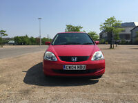 HONDA CIVIC 1.7 CTDI (2 Lady owners - full service history 8 stamps - Low Mileage)