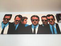 Reservoir Dogs Large Canvas