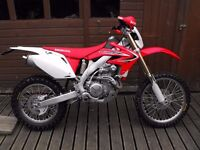 2013 Honda CRF450x Low hours PX any bike and delivery possible