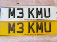 Number plate bmw m3
