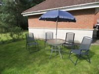 Garen patio furniture set