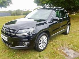 VOLKSWAGEN TIGUAN 2.0 TDI MATCH BLUE TEC, 2014, ONLY 39,000 MILES **FINANCE FROM £59 A WEEK**