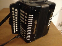 Button Stephanelli Accordian - Good condition - Hardly played