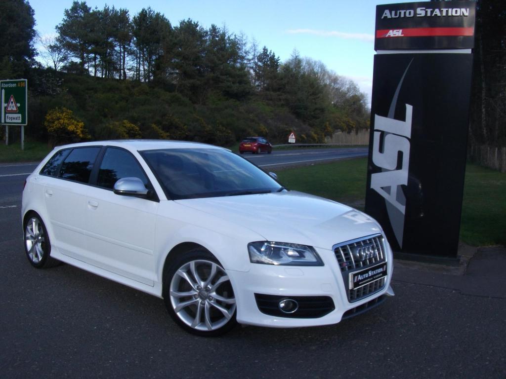 Audi a3 s3 quattro white 2010