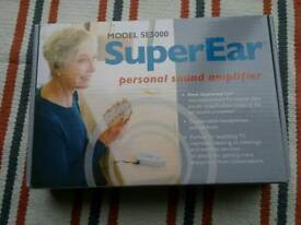 Super Ear, for hard of Hearing.
