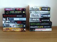 28 Crime fiction Books - Paperback