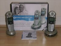 Geemarc Amplidect 352 Amplified Cordless Phone Duo Pack