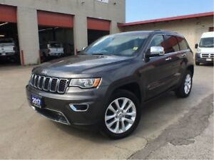 2017 Jeep Grand Cherokee LIMITED**LEATHER**SUNROOF**NAV**BACK UP