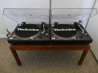 Stunning pair of Technics 1210 Mk2's - Freshly Serviced