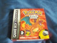 Pokemon Fire Red Game Nintendo Gameboy Advance(excellent condition)