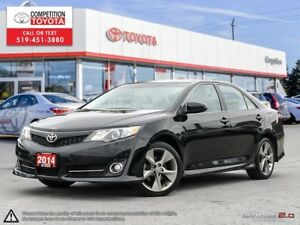 2014 Toyota Camry SE One Owner, No Accidents, Toyota Serviced
