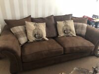 Lovely dfs large Sofa