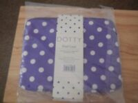 Dotty purple iPad case brand new