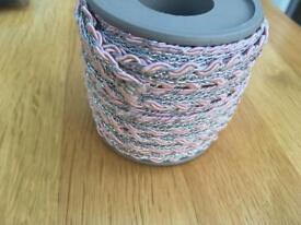 6 reels of craft braid