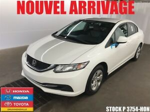 2013 Honda Civic LX+AUTOMATIQUE+CRUSE+SIEGE CHAUFF+++