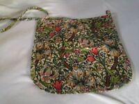 Over the shoulder William Morris Peg Bag's
