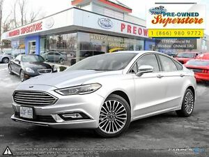2017 Ford Fusion >>>NAV, leather, AWD<<<