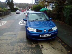 Renault megane diesel 2007 spares or repairs