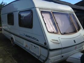 Abbey Aventura 4 Berth Caravan 2001