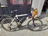 Mens Apollo Evade 21 speed electric bike for sale