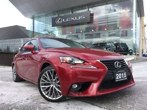 2015 Lexus IS 250 Premium Pkg AWD Leather Sunroof Back Up Cam Bl