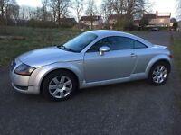 Audi TT. Automatic 76.000 miles. SERVICE..HISTORY