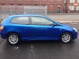 Honda Civic 1.6 petrol MOT next year March good condition for the age