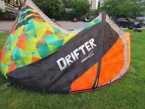 Cabrinha Drifter 11m complete with 1x Overdrive Recoil bar