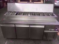 TOPPING FASTFOOD BUFFET COMMERCIAL FRIDGE CANTEEN RESTAURANT SHOP DINER TAKEAWAY CAFETERIA MACHINE