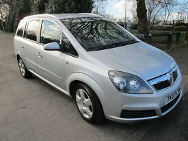 2007 (07), Vauxhall Zafira 1.8 i VVT 16v Energy 7-Seater MPV 5dr. 1-Owner, Low Miles, Full S/History