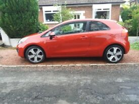 Economical and High Spec 2013 Kia Rio 1.4 crdi diesel - Full Service History. Sporty looks